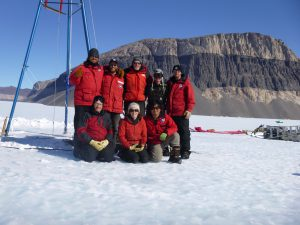 Shackleton, along with her research team, traveled to Antarctica's Taylor Glacier to collect revealing atmospheric samples.