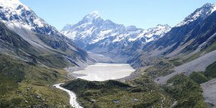"""EARTH'S THERMOMETERS"" HEATING UP: NEW ZEALAND GLACIERS RAPIDLY RETREATING"