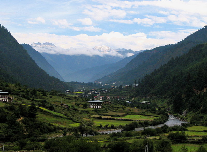 Photo by Douglas J. McLaughlin/Creative Commons The small mountain country of Bhutan is home to 700,000 people, many of whom rely on hydroelectric power that could be interrupted by the loss of the glaciers.