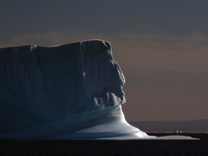 Photo courtesy of Richard Alley  Ice monuments such as this one, off Scoresby Sound, Greenland, are disappearing - and scientists still aren't sure exactly what will happen to the rest of the planet when they do.