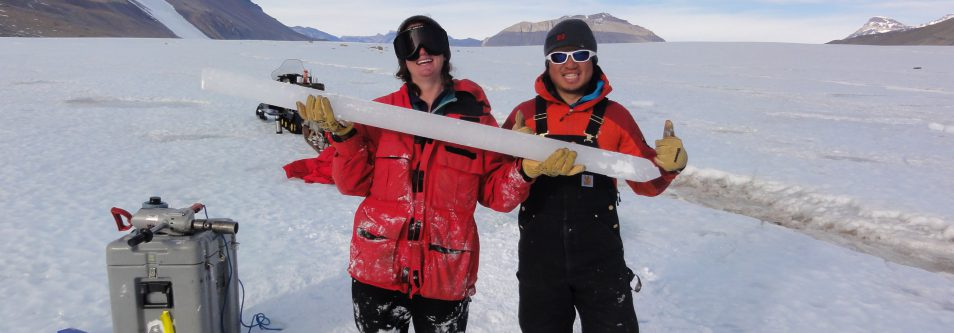 ANTARCTIC ICE RESEARCH SHEDS LIGHT ON PAST TO HELP PREDICT WHERE CLIMATE CHANGE IS HEADING