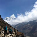 RAPID GLACIAL MELT NEAR MOUNT EVEREST PEAKS THREATENS NEPALI COMMUNITIES