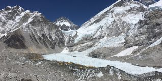Khumbu Glacier in Nepal offers clues to rapid retreat of ice